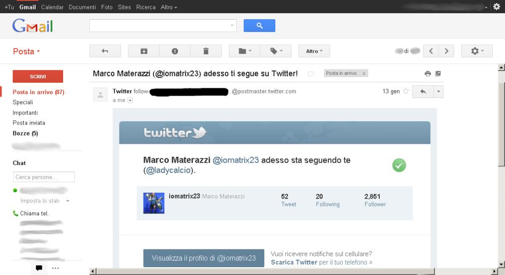 Marcone mi segue