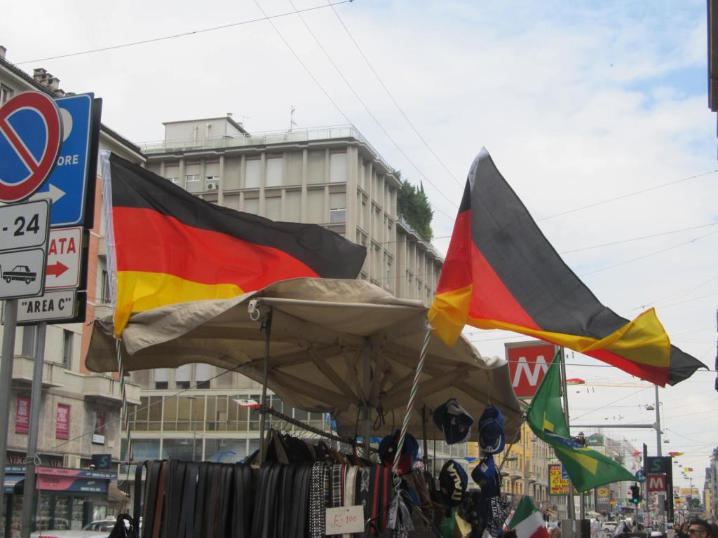 Bandiere Germania MI