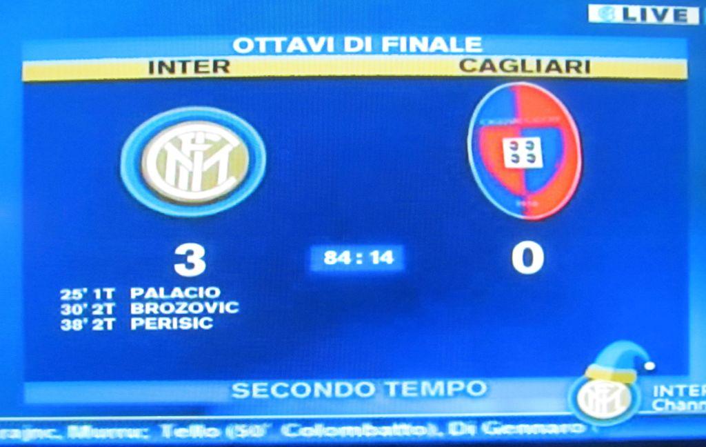Schermata Inter-CA 3-0