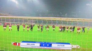 6 Derby Milan sotto curva