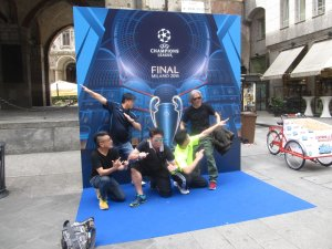 Finale Champions League Milano 8
