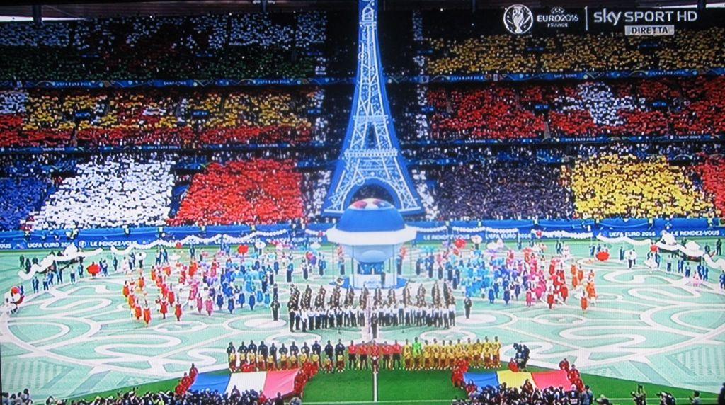 Cerimonia apertura Euro 2016