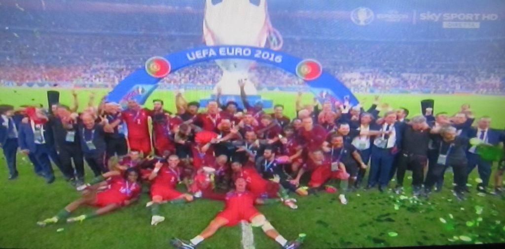 Portogallo Campione Euro 2016