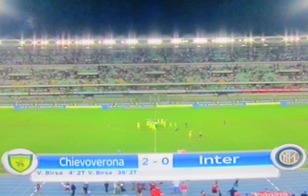 Sconfitta De Boer Chievo